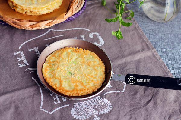 香软鸡蛋饼,早餐好搭配
