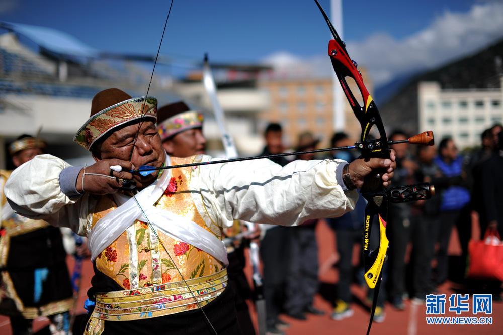 2016西藏响箭比赛在林芝举办