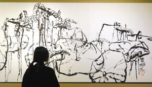 潘公凯水墨与建筑作品在甬展出