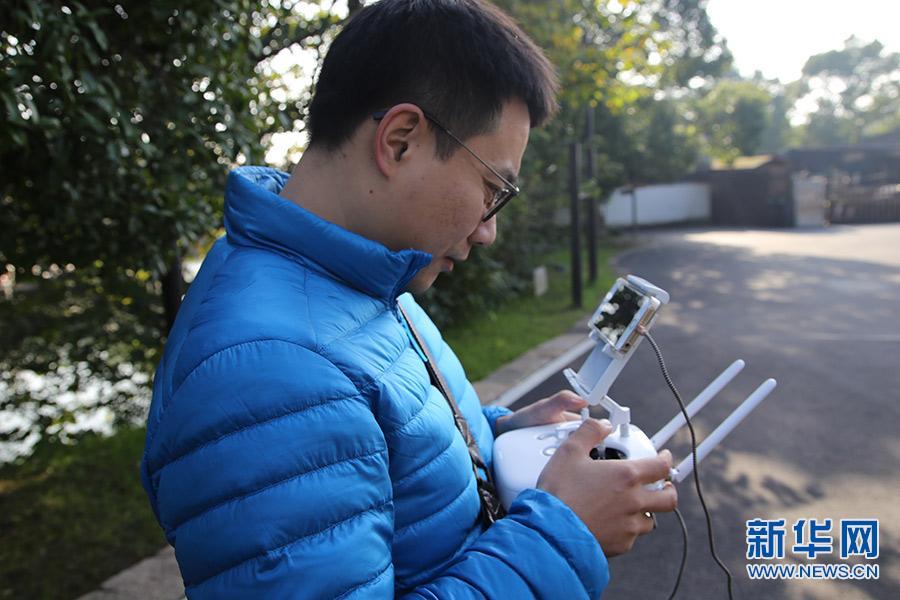 大会前夕新华网新闻无人机队到乌镇做预热报道