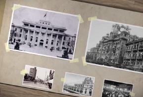 航拍:百年老街汉口中山大道华丽蝶变