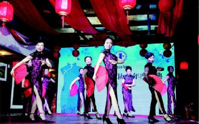 旗袍秀在晋城上演