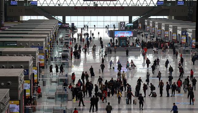 2017年春运大幕开启 郑州预计发送旅客1370万人