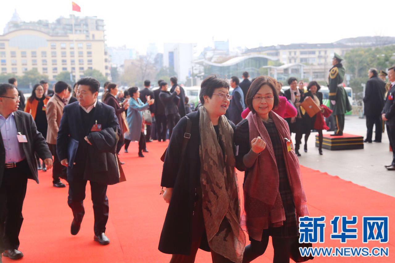 浙江省十二届人大五次会议在杭州开幕