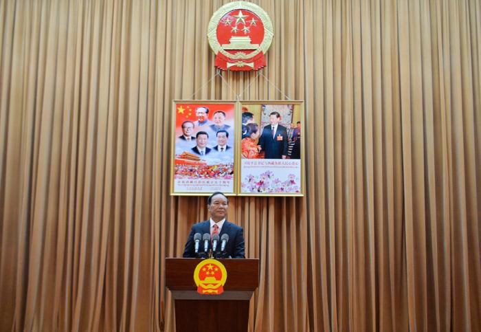 洛桑江村当选西藏自治区人大常委会主任 齐扎拉当选西藏自治区主席