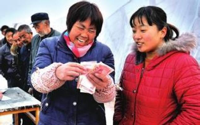 辉县市南李庄村:村民喜领196万元土地分红
