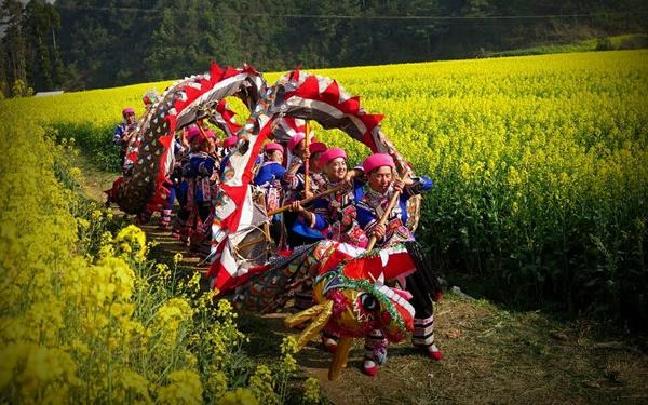 峨山开新街暨油菜花文化旅游节等你来