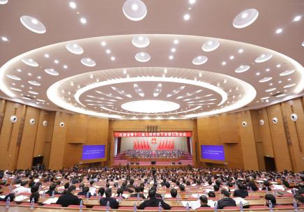 江西省十二届人大七次会议召开第二次全体大会(图)