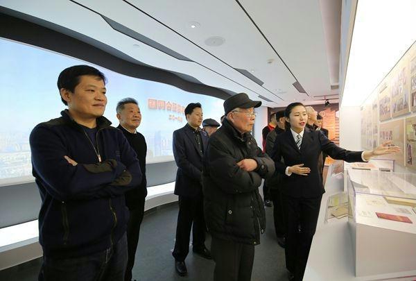 国网合肥供电公司历史发展展厅正式开馆