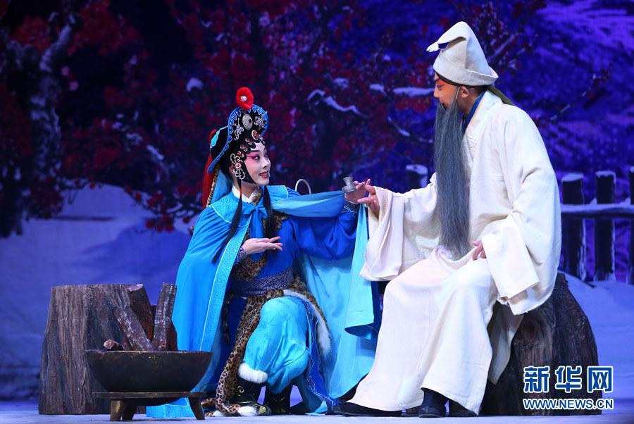 天津:青年京剧才俊展风采