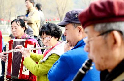 西安:公园里的交响乐