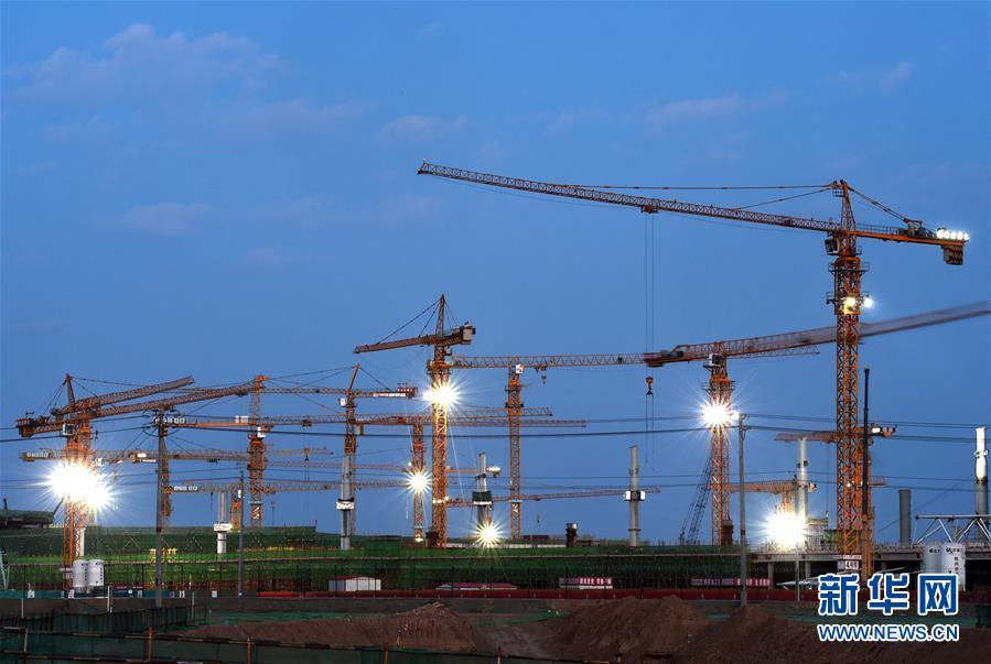 探访北京新机场建设工地