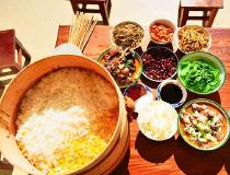 昌宁小山村,满是乡愁的面馃饭