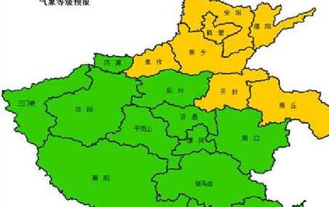 去年河南全省晴雨预报准确率为88.16%