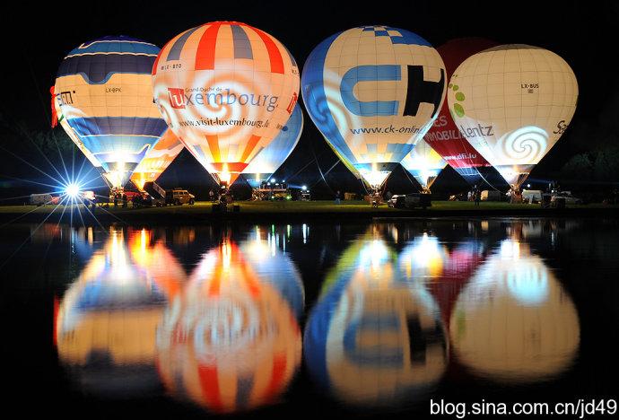 数十个国家的酷炫异形热气球来白鹿仓啦 带你先睹为快