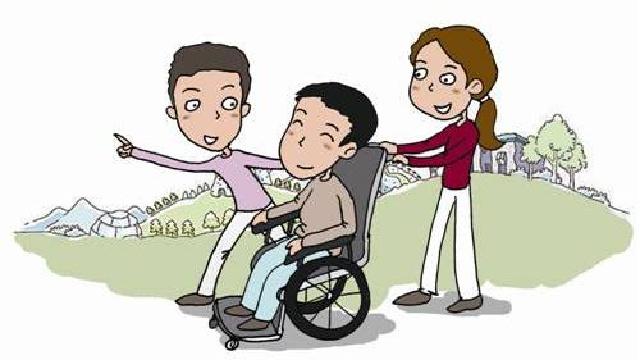 沈阳市沈北新区87名残疾人爱心协管员上岗服务