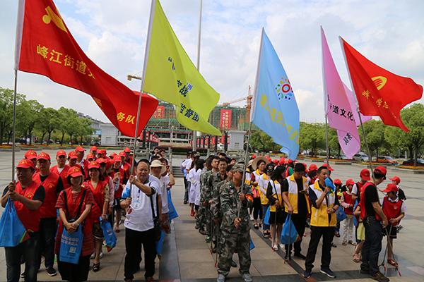 """台州路桥开展:""""520""""集中志愿日行动"""