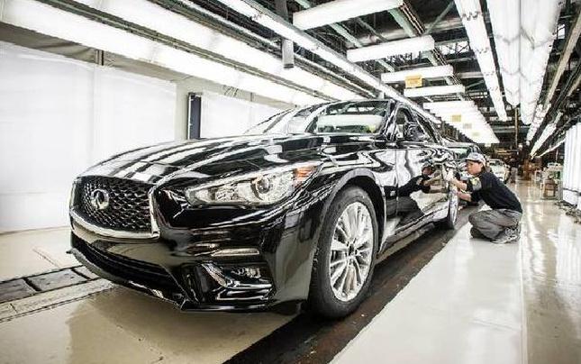 2018款英菲尼迪Q50在日本正式投产 年底上市