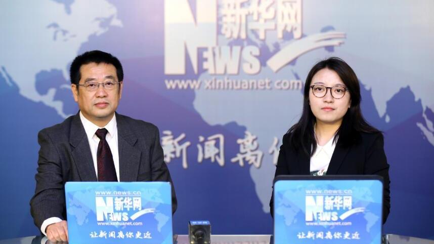 辽宁省发展和改革委员会副主任何睿走进新华访谈间