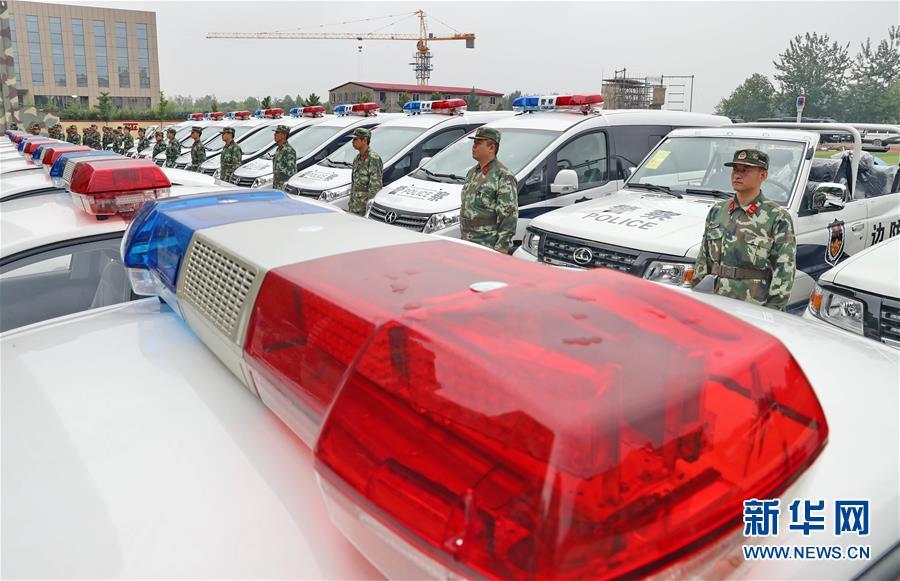 河北公安边防新装备配发到基层