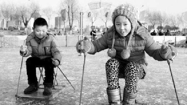 丁香湖冰雪节举办创意雪雕大赛