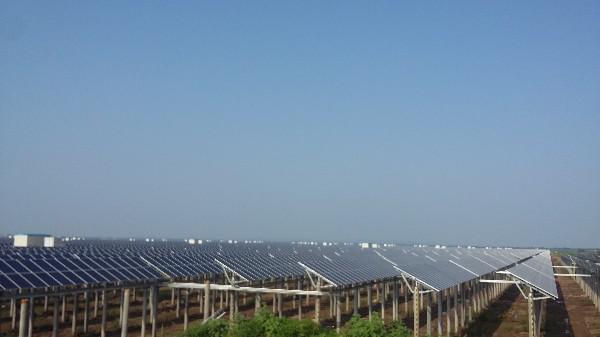 焦崗湖光伏發電一期項目并網發電通過驗收