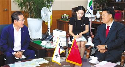 洛桑江村率团出访韩国和澳大利亚