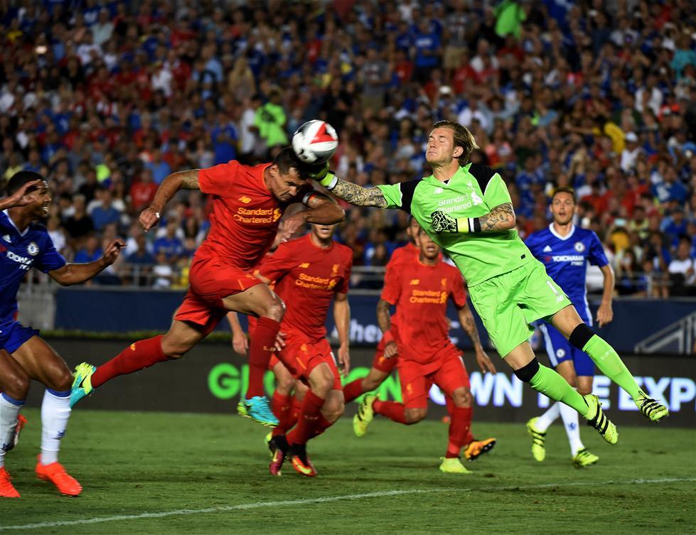 国际冠军杯:切尔西胜利物浦