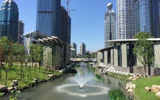 """为G20添彩的新塘河 有一位守护她的""""老黄牛"""""""