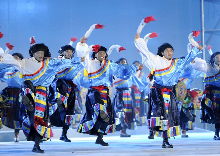第三届中国西藏旅游文化国际博览会开幕