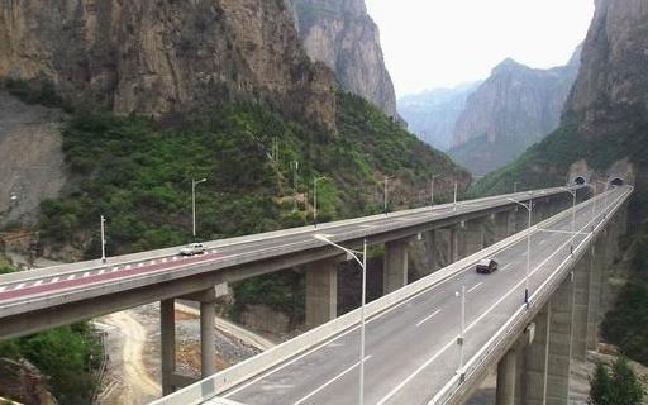翼城县舜王坪公路开工改造 山西首条农村旅游公路项目启动
