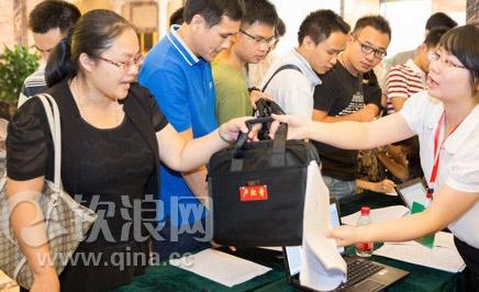 图:出席钦州市第五次党代会代表风采