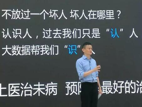 马云:数据时代是预测未来的时代