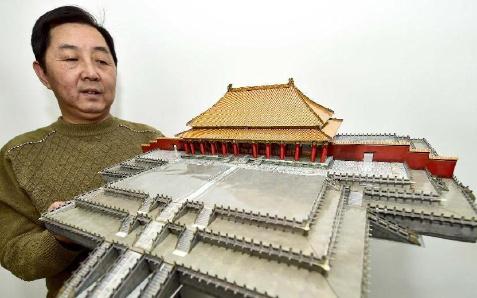 """天津""""纸模达人""""已有上千作品出版"""