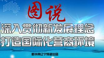{图说新闻}沈阳深入贯彻新发展理念 打造国际化营商环境