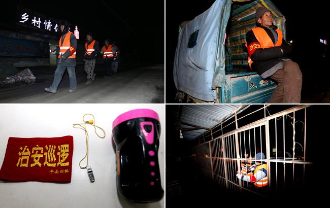 安徽淮北:乡村治安服务队守护平安