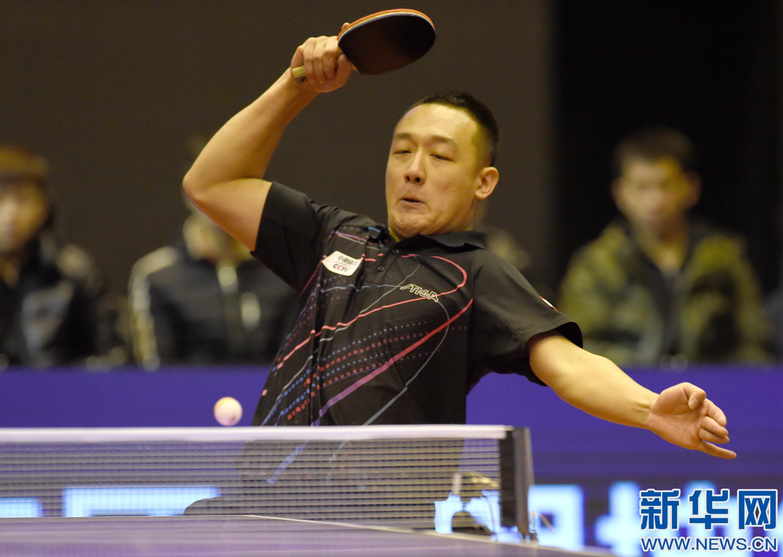 乒乓球——乒超联赛总决赛:八一大商队获男团冠军