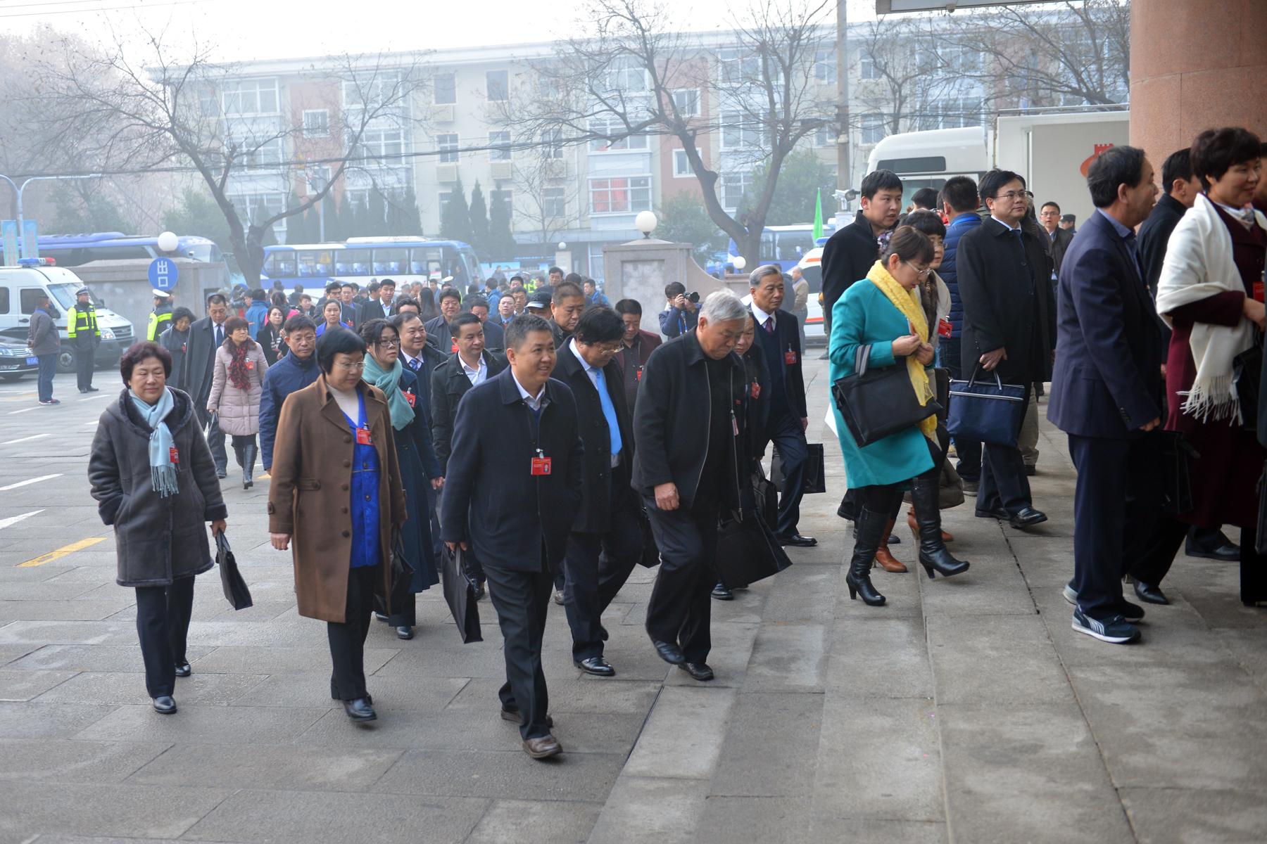 图片直击:河北省十二届人大五次会议今日开幕