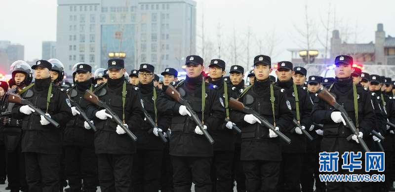 """山西曲沃公安启动""""4+1""""警务巡逻模式"""