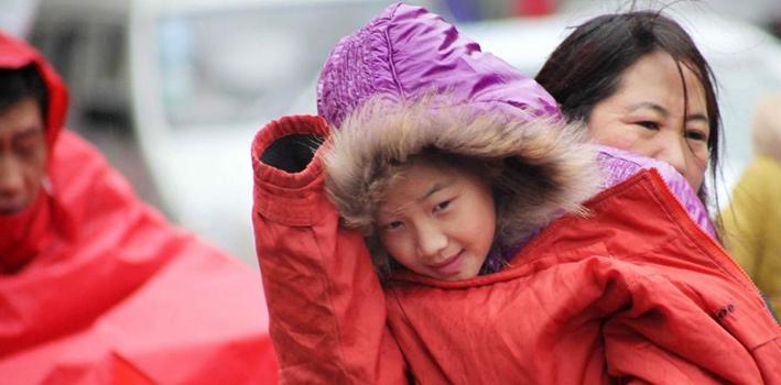 北方地区弱冷空气活动频繁