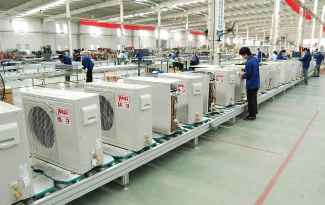 滁州家用空调外机生产线