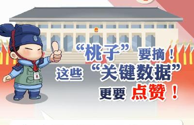 """【秦小新解两会】""""桃子""""要摘!这些""""关键数据""""更要点赞"""