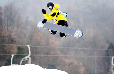 陕西省第三届滑雪大会开赛