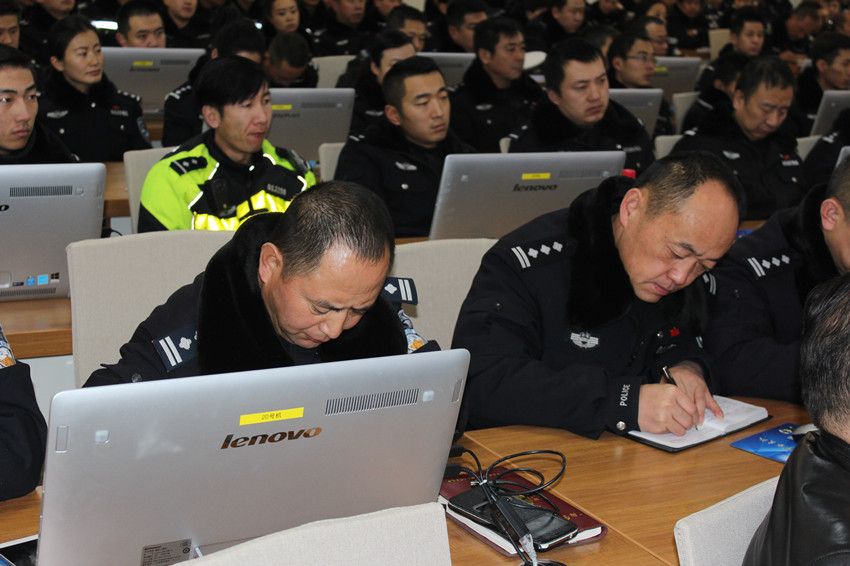 """专家解读""""智能交通应用""""西宁交警受益匪浅"""