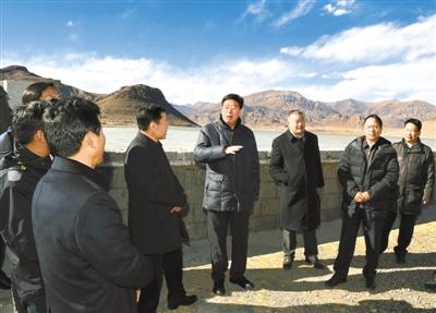 吴英杰:大力推进农田水利基本建设 不断提高农牧业综合生产能力