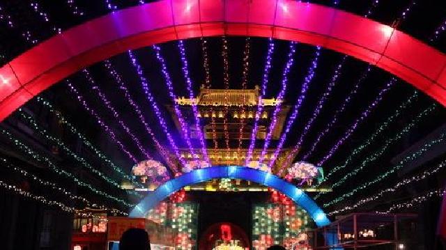 盛京灯会延至2月底 赏灯时间17时至21时