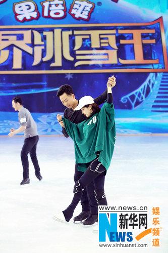 李菲儿完美演绎《跨界冰雪王》晋级6强