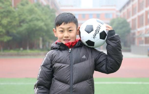合肥师范附小第二小学葛智伟入选2017年国家足球训练营