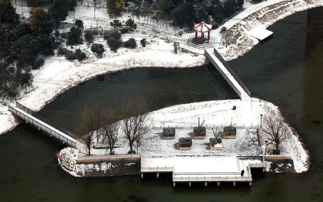 【航拍】许昌:雪后美景如画