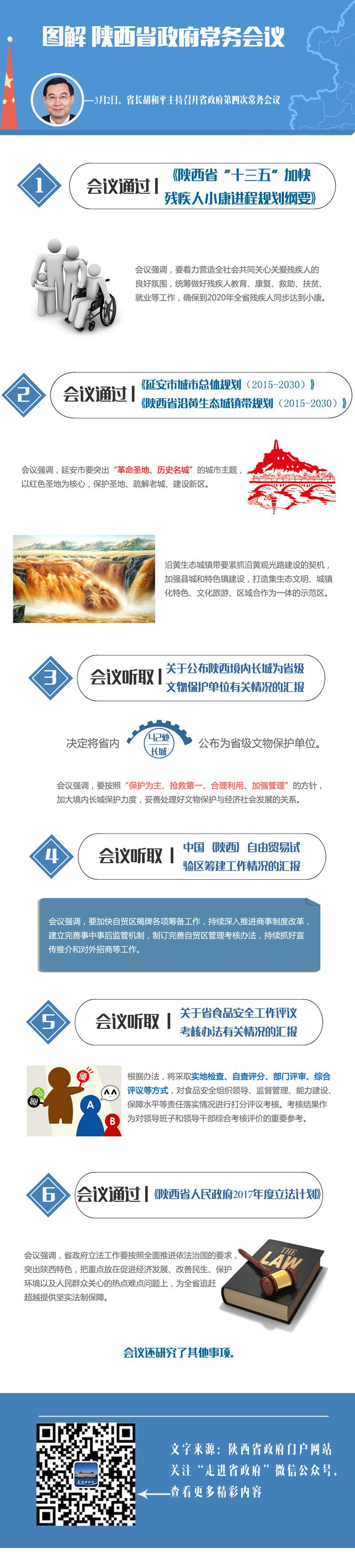 图解:陕西省政府2017年第四次常务会议